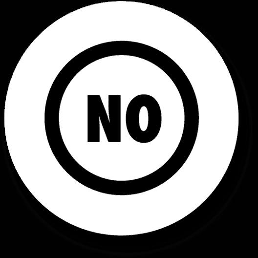 no badge
